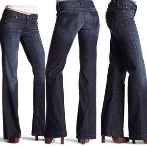 7 Seven For All Mankind Dojo Flare Jeans 25